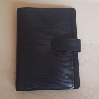 ルイヴィトン(LOUIS VUITTON)のルイヴィトンエピ手帳カバー(手帳)