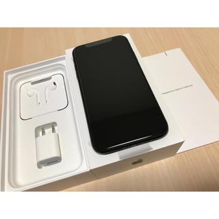 アイフォーン(iPhone)の新品 iPhoneXR 64GB SIMフリー ブラック(スマートフォン本体)