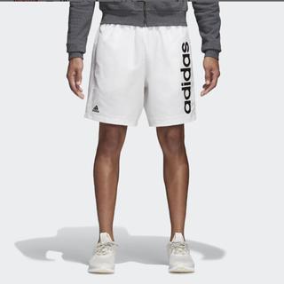 adidas - 新品 未使用 アディダス ハーフパンツ L 白 ホワイト メンズ adidas