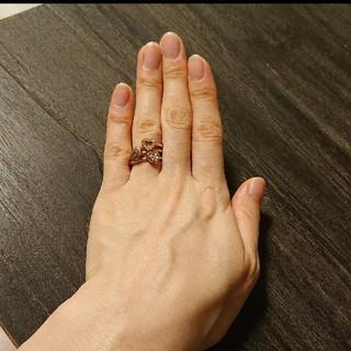 コーチ(COACH)のコーチ 三連リング(リング(指輪))
