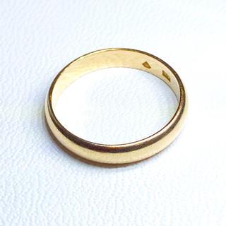 k18 甲丸 リング(リング(指輪))