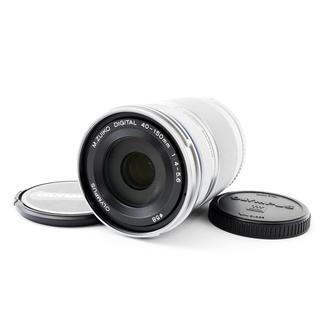 オリンパス(OLYMPUS)の☆ペンシリーズ用望遠☆M.ZUIKO 40-150mm R シルバー(レンズ(ズーム))