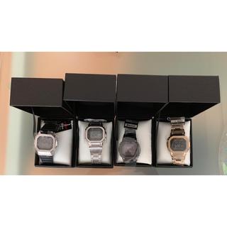 中村様専用 【G-SHOCK GMW-B5000 フルセット 金 銀 ラバー(腕時計(デジタル))