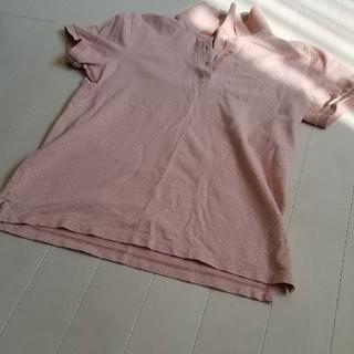 ユニクロ(UNIQLO)のユニクロ水玉ポロシャツSsize(ポロシャツ)