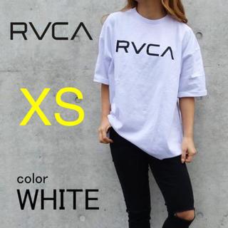 ルーカ(RVCA)の新品 RVCA XSサイズ ★ ビッグロゴ ドルマンTシャツ ルーカ ホワイト(Tシャツ/カットソー(半袖/袖なし))