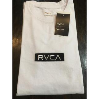 ルーカ(RVCA)のLサイズ ★ RVCA ルーカ Tシャツ フロント ロゴ ルカ 新品(Tシャツ/カットソー(半袖/袖なし))