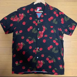 Supreme - Supreme Cherry Rayon S/S Shirt 確実正規品