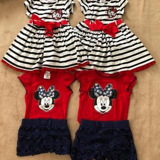 Disney - ディズニー ミニー 姉妹 双子コーデ
