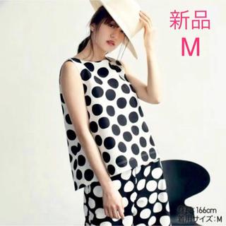 ユニクロ(UNIQLO)の新品 ♡ ユニクロ UNIQLO マリメッコ トップス M marrimekko(シャツ/ブラウス(半袖/袖なし))