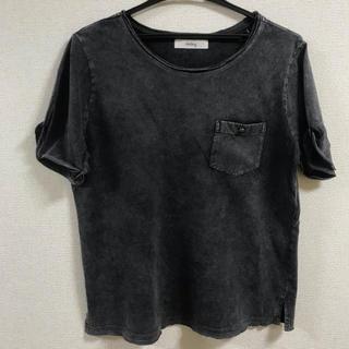ホリデイ(holiday)のケミカルウォッシュTシャツ(Tシャツ(半袖/袖なし))