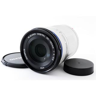 オリンパス(OLYMPUS)の☆PENシリーズ用望遠レンズ☆M.ZUIKO 40-150mm シルバー(レンズ(ズーム))