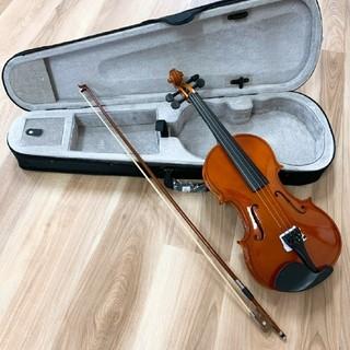 全国送料無料☆木製ヴァイオリン ブラウン ゆうパック