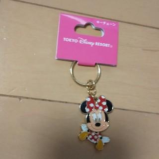 ミニーマウス - ディズニー ミニー キーホルダー 未使用品