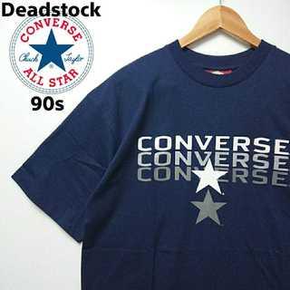 コンバース(CONVERSE)の476 レア コンバース デッドストック 90s USA製 デカロゴ Tシャツ(Tシャツ/カットソー(半袖/袖なし))