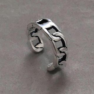 シルバー925 スリム喜平リング シルバーリング(リング(指輪))