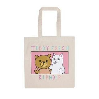 シュプリーム(Supreme)のRIPNDIPリップンディップ Teddy Fresh BFF Tote Bag(エコバッグ)