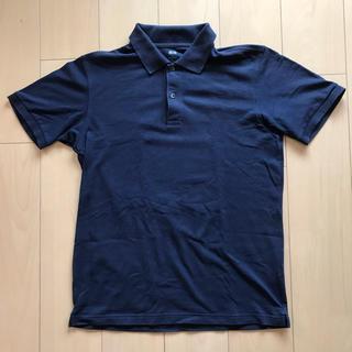 ユニクロ(UNIQLO)の★ユニクロ★ポロシャツ ネイビー Lサイズ(ポロシャツ)