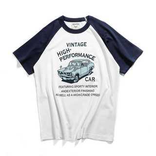 Tシャツ メンズ 半袖Tシャツ 綿コットン 配色新作 人気 紳士定番OK9108(Tシャツ/カットソー(半袖/袖なし))