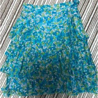 アンテプリマ(ANTEPRIMA)のプリマアトリーチェのひらひらスカート(ひざ丈スカート)