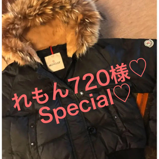 MONCLER - Moncler♡ショートダウンジャケット♡オールファーフッドS〜Mサイズ