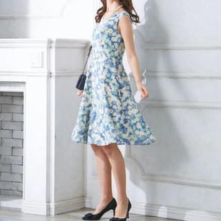 トッカ(TOCCA)のTOCCA daisy bed 花柄 ドレス ワンピース 2(ひざ丈ワンピース)