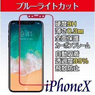 iPhoneXS 強化ガラス保護フィルム(ペインターパンツ)