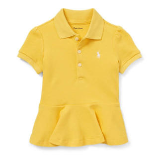 ラルフローレン(Ralph Lauren)のラルフローレンベビーペプラムポロシャツ 新品タグつき90(Tシャツ/カットソー)