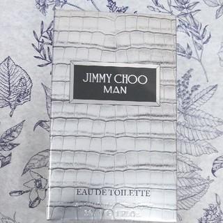 ジミーチュウ(JIMMY CHOO)のジミーチュウマン新品♪オードトワレ(香水(男性用))