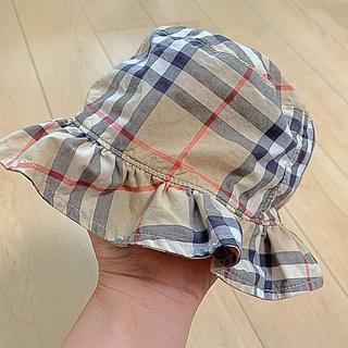 バーバリー(BURBERRY)のバーバリー♡BURBERRY 帽子 チューリップハット 44cm(帽子)