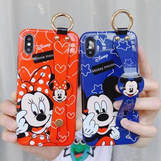 Disney - 新作 ミッキー ミニー iPhoneケース