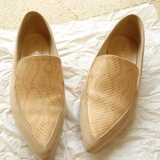 マミアン(MAMIAN)のMAMIAN フラットシューズ 23.5(ローファー/革靴)