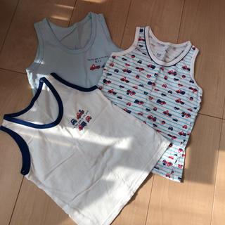 ニシマツヤ(西松屋)の男の子用肌着 タンクトップ サイズ95(下着)