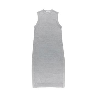 アリシアスタン(ALEXIA STAM)のSide Slit No-Sleeve Knit Ice Gray(ロングワンピース/マキシワンピース)