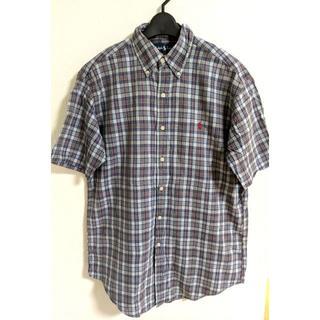 ラルフローレン(Ralph Lauren)のラルフローレン Ralph Lauren 半袖シャツ メンズ チェックシャツ(シャツ)