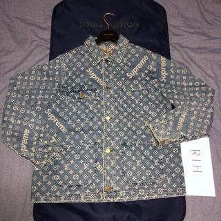 シュプリーム(Supreme)の国内 size50 デニム chore coat supreme vuitton(Gジャン/デニムジャケット)
