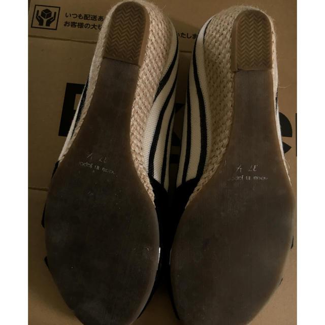 Le Talon(ルタロン)の▶︎le talon◀︎オープントゥ ウェッジ レディースの靴/シューズ(サンダル)の商品写真