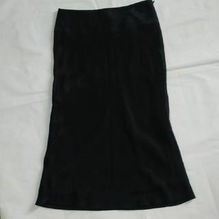 ユニクロ(UNIQLO)のユニクロ  サテンスカート(ロングスカート)