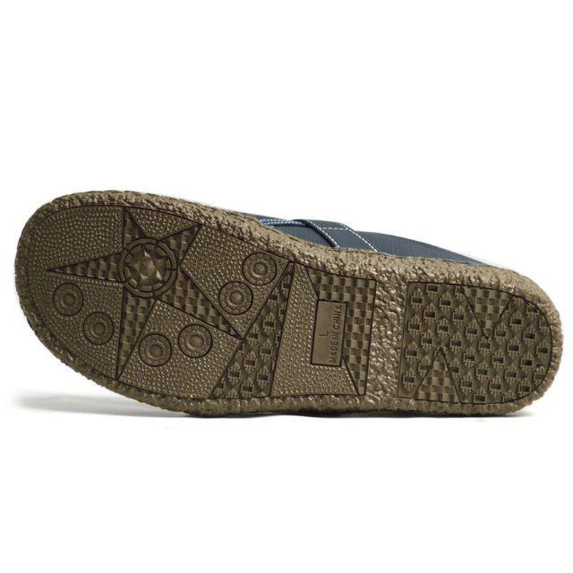 【新品】メンズ サボサンダル サンダル スリッポン ネイビー 25~27.5cm メンズの靴/シューズ(サンダル)の商品写真