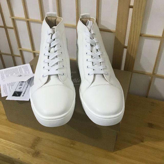 Christian Louboutin(クリスチャンルブタン)のChristian Louboutin  スニーカー ホワイト 26cm メンズの靴/シューズ(スニーカー)の商品写真
