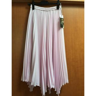 GRACE CONTINENTAL - グレースコンチネンタル  イレギュラープリーツスカート