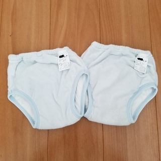 ニシマツヤ(西松屋)のトレーニングパンツ 2枚 サイズ100 西松屋(トレーニングパンツ)