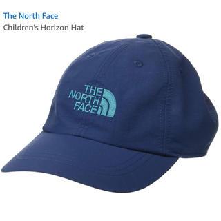 ザノースフェイス(THE NORTH FACE)のノースフェイス キャップ ブルー☆キッズ M ☆新品(帽子)