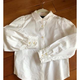 ラルフローレン(Ralph Lauren)のラルフローレン ホワイトシャツ 140(ブラウス)