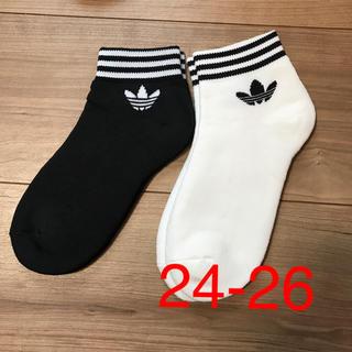 アディダス(adidas)のアディダスオリジナル ソックス 靴下 2足セット(ソックス)
