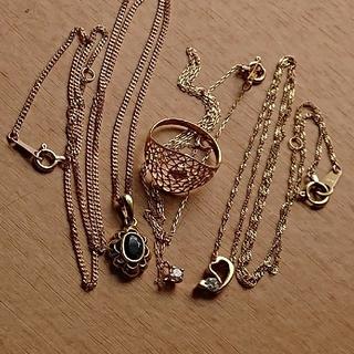 k18、ダイヤモンド、サファイアなど装飾品まとめ売り