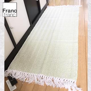 Francfranc - ❤新品タグ付き フランフラン ヘリンボーン キッチンマット【グリーン】❤