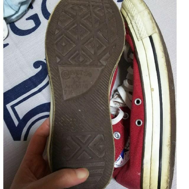 CONVERSE(コンバース)の専用ですm(_ _)mCONVERSE スニーカー ハイカット 赤 メンズの靴/シューズ(スニーカー)の商品写真