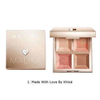 セフォラ(Sephora)の限定 BECCA ハイライト パレット(フェイスカラー)