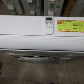 ヒタチ(日立)のK666 日立 中古エアコン 主に8畳用 冷2.5kw/暖2.8kw(エアコン)