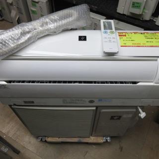 K672 シャープ 中古エアコン 主に10畳用 冷2.8kw/暖3.6kw(エアコン)